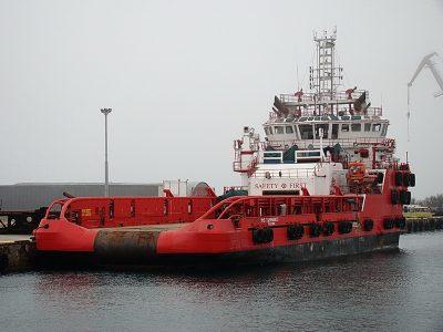На Севморзаводе отремонтируют судно «Мыс Тарханкут»