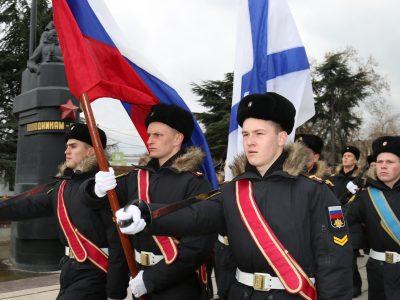 Торжественный митинг посвященный Дню моряка-подводника
