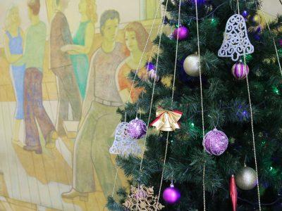 Новогоднее поздравление директора филиала В.В. Баженова сотрудникам предприятия