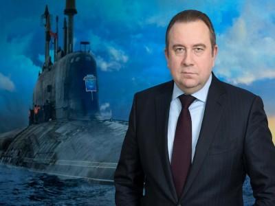 Поздравление Президента ОСК А. Л. Рахманова с Днем ВМФ