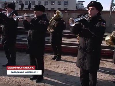 Севморзавод заложил заказ 001 — плавкран «Севастополь» (ВИДЕО)